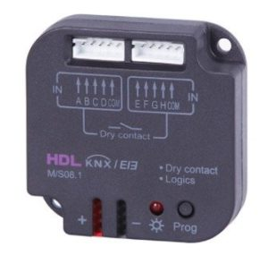 HDL KNX Dry Contact 8-Channel Sensor