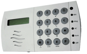Cytech KP05 Comfort LCD Security Keypad