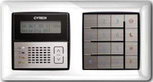 Cytech Comfort LCD Security Keypad (White Frame)