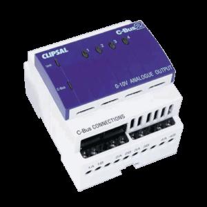 Clipsal C-Bus 4-Channel Dimmer 0-10v