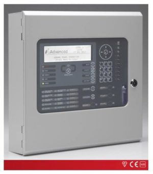 Advanced Analogue Adressable Fire Alarm Panel 1-Loop