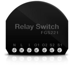 Fibaro Z-Wave Relay Module 2×1.5 KW