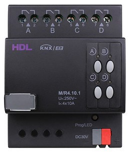 HDL KNX 4-Channel 10A Switch Actuator