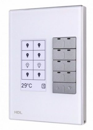 HDL KNX Intelligent DLP Switch – White – US Style
