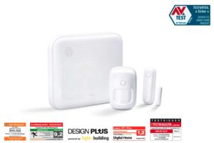 LUPUSEC – XT1 Plus Wireless Alarm System Starter Kit