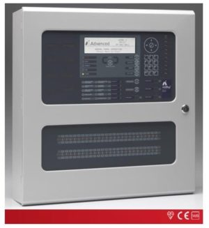 Advanced Analogue Adressable Fire Alarm Panel 1-4 Loop