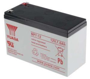 Yuasa Lead Acid Battery 12V / 7Ah