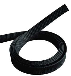 Cable Management 1.80 meters Black Polyester