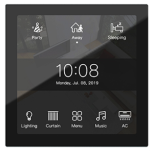 HDL KNX Granite Display Panel EU, with 4-inch LCD screen
