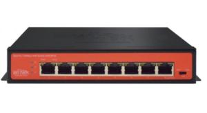 Wi-Tek 8 Ports PoE Switch